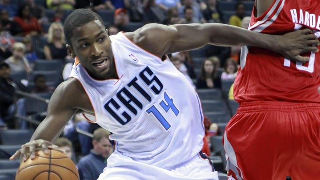 Rookie Michael Kidd-Gilchrist, shown Jan. 21, says he lost to Bobcats owner Michael Jordan in one-on-one.
