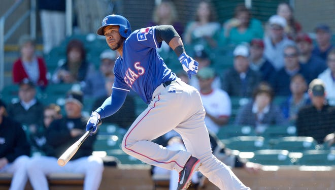 Rangers shortstop Elvis Andrus is a two-time All-Star.