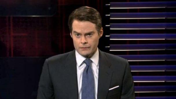 Bill Hader performs on 'Saturday Night Live.'