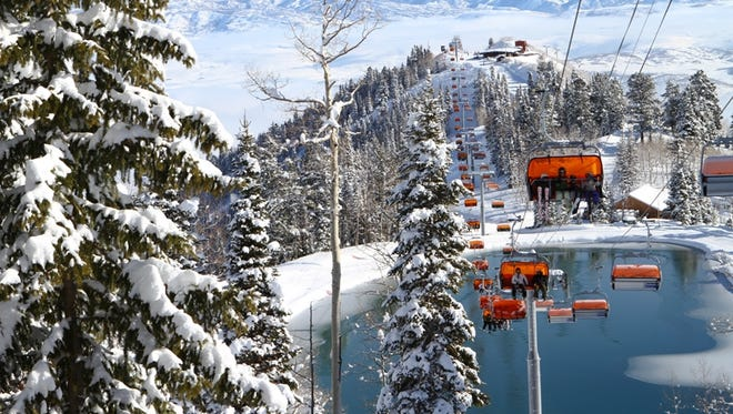 Ski areas, such as Utah's Canyons Resort, are seeking to rebound from last season, when  lack of snow kept visitors away.