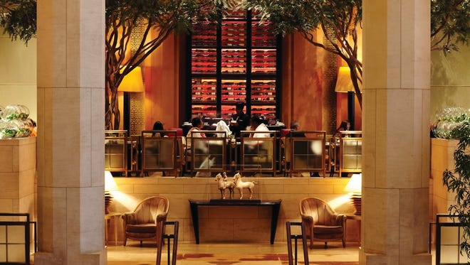 The Four Seasons New York is one of several Manhattan hotels experiencing strong demand from stranded travelers and locals without power.
