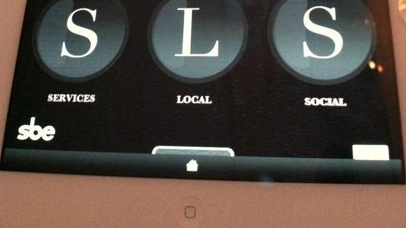 SLS screen