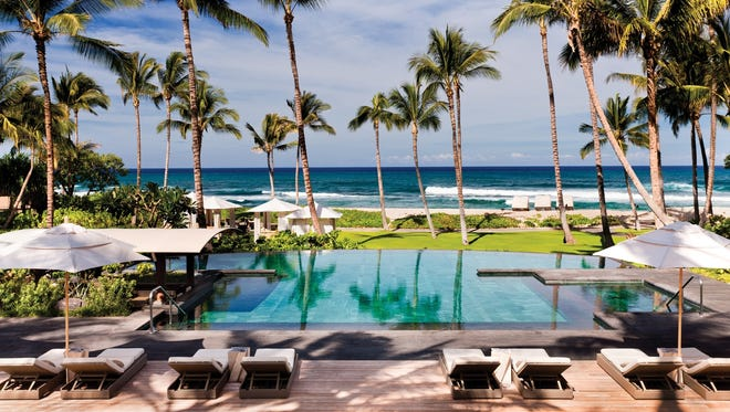 Four Seasons in Hawaii named top hotel in TripAdvisor Travelers' Choice awards: The awards — which TripAdvisor compiles by crunching review data from its 60 million monthly users — showcase the Top 25 hotels in six categories including 'bargains.'The Four Seasons Resort Hualalai at Historic Ka'upulehu on Hawaii's Big Island won six separate titles. It was named the No. 1 overall hotel and best luxury hotel in the USA and the world. The hotel also received mentions for its service, nabbing the No. 5 spot on the list of U.S. hotels with best service, and the No. 25 spot for best service in the world.