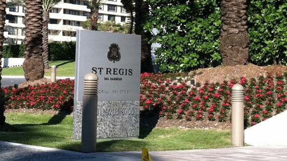 St Regis sign