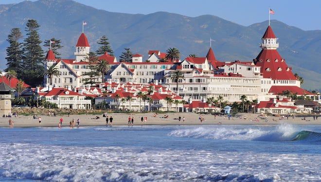 The historic Hotel del Coronado near San Diego  is celebrating its 125th anniversary.