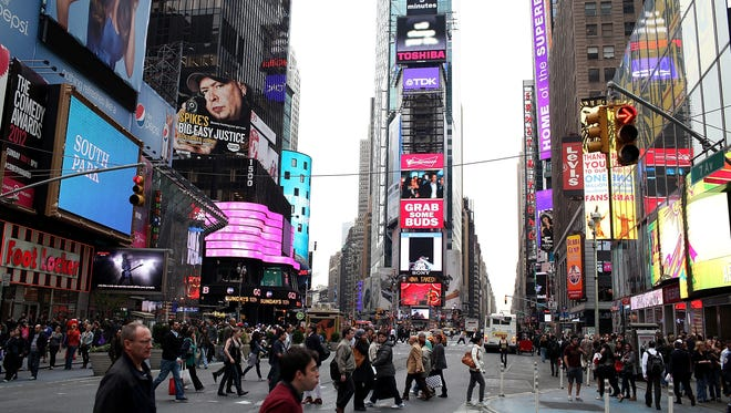 Though it's best knows for raucous New Year's Eve celebrations, the most expensive week for hotels in New York City is actually the first week of December, when holiday shoppers and theater-goers swarm the city.