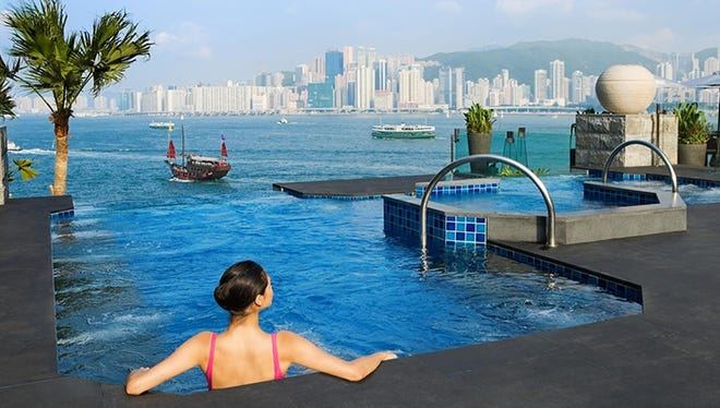 18 hotels earn Forbes Five Star status for 2013: Besides a prime location, guests at Five Star-status hotels can expect top-notch service. Odds are high that employees will know your name before you introduce yourself. Here, the pool at the InterContinental hotel in Hong Kong, which earned Forbes top honor.