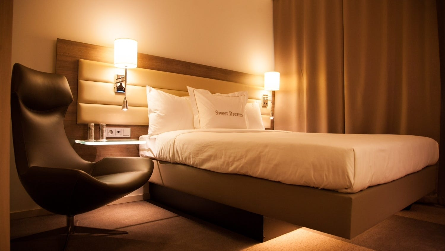 Dream job: sleep in hotels and check bed comfort