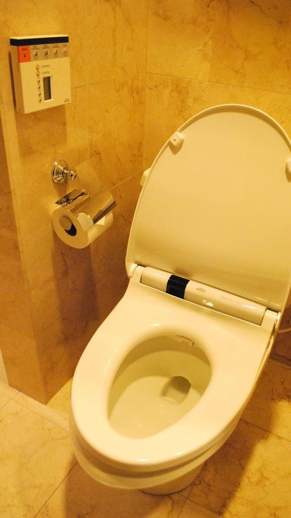 N.Y. hotel offers a Japanese toilet in every room