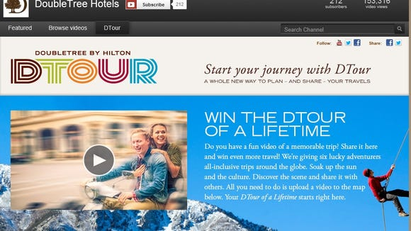 DTour Homepage
