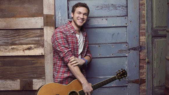 Phillip Phillips debuts at No. 4 on The Billboard 200.