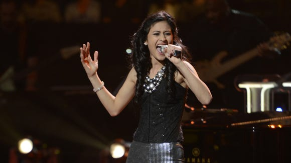 Shubha Vedula performs in the Sudden Death Round of AMERICAN IDOL.