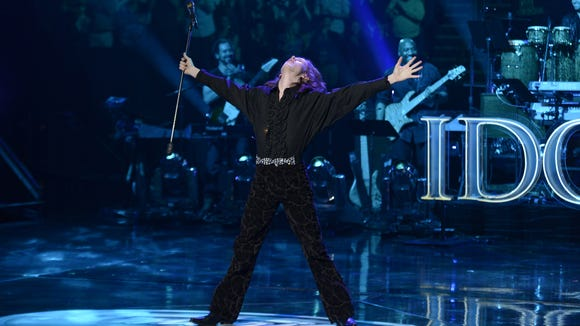 Charlie Askew performs in the Sudden Death Round of AMERICAN IDOL.