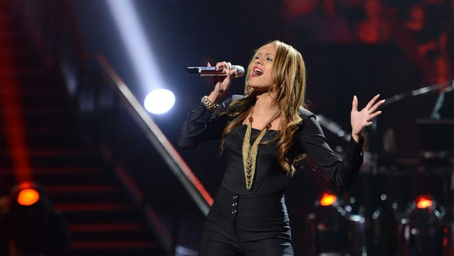 Breanna Steer survived 'Idol's' sudden-death round Wednesday to make the competition's semifinals.
