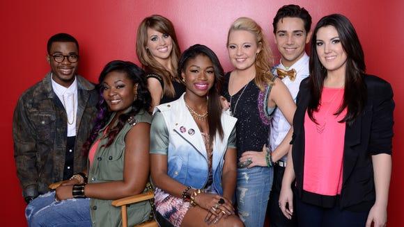 """The """"American Idol"""" Season 12 Top 7"""