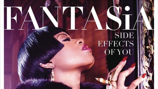 "Fantasia's ""Side Effects of You"" debut at No. 2 on The Billboard 200 sales chart."
