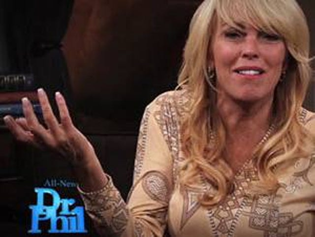 Dina Lohan flips the bird on 'Dr  Phil' season debut