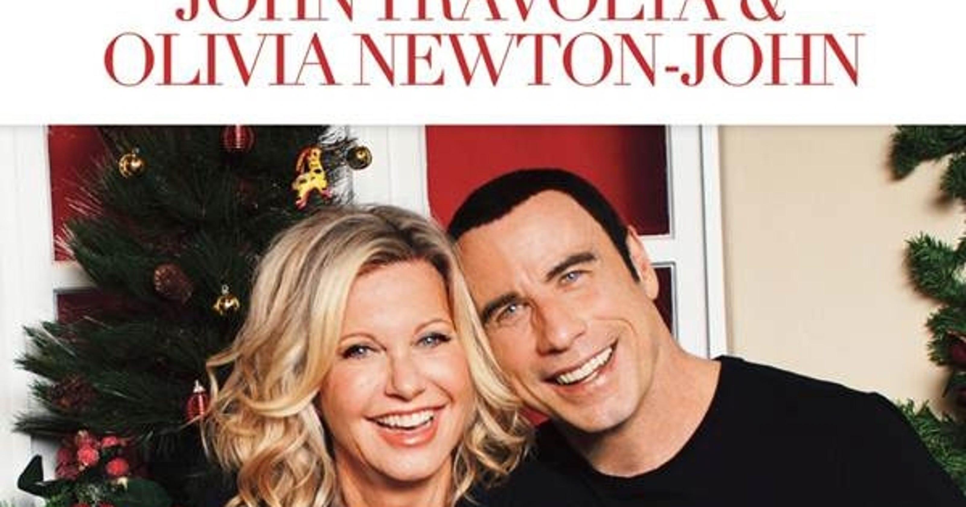 john travolta olivia newton john reunite for album - Olivia Newton John This Christmas