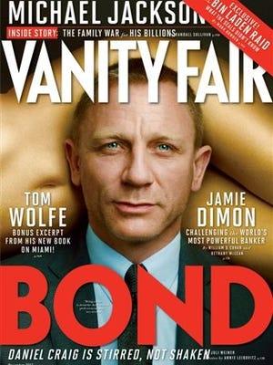 Actor Daniel Craig on 'Vanity Fair' November cover