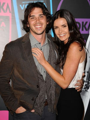 Ben Flajnik and Courtney Robertson on March 29 in Los Angeles.