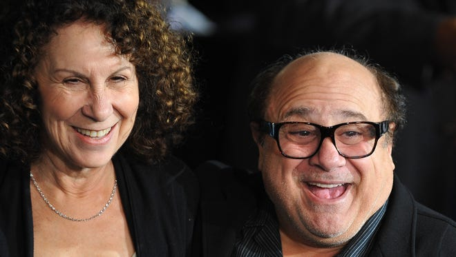 Actors Dany DeVito and Rhea Perlman, shown in 2009, reportedly met on the set of 'Taxi' in in 1978.