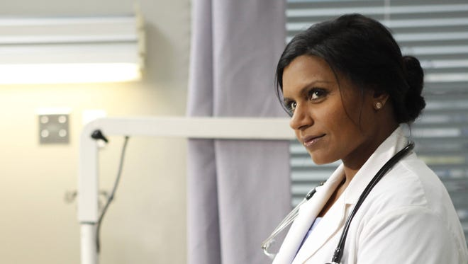 Mindy Kaling is an OB/GYN in 'The Mindy Project' on Fox.