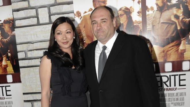 James Gandolfini and his wife Deborah Lin now have a daughter.