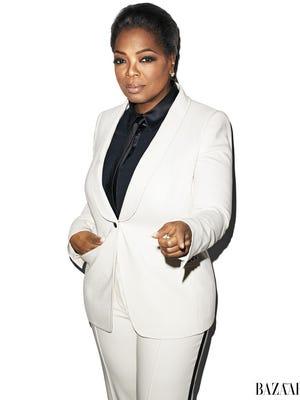 Oprah Winfrey opens up in the November 'Harper's Bazaar.'