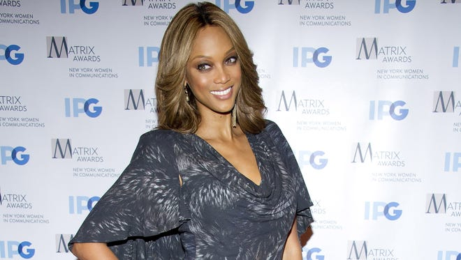 Tyra Banks is the beauty and the brains behind 'ANTM.'