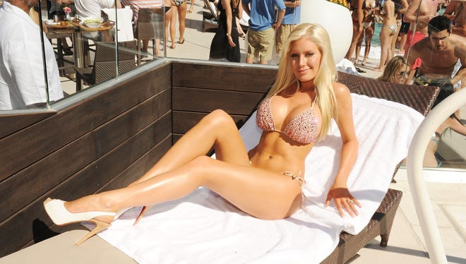 Heidi Montag famously unveiled her 10-surgeried bod at Liquid Pool in Las Vegas on April 10, 2010.