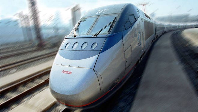 Starting late Monday, Amtrak plans to begin testing high-speed Acela Express trains at 165 mph along four stretches of the Northeast Corridor between Maryland and Massachusetts.