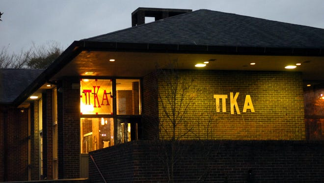 The University of Tennessee on Friday indefinitely suspended the Pi Kappa Alpha fraternity in Knoxville after alleged 'alcohol enemas' sent one student to the hospital last weekend. The soonest the fraternity can reorganize is 2015.