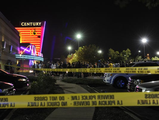 Lawsuit by Aurora shooting victims says Cinemark theater