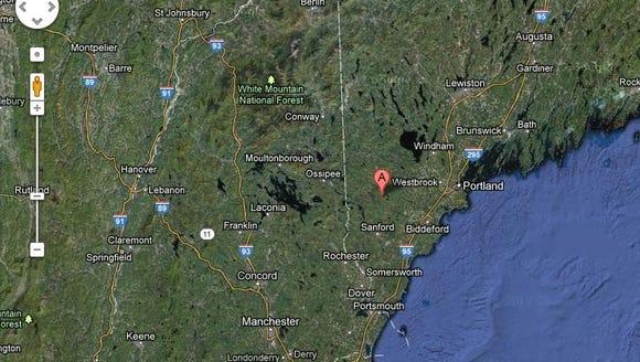 Maine quake