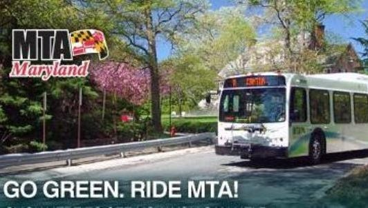 A promotional photo for the Maryland Transit Administration.