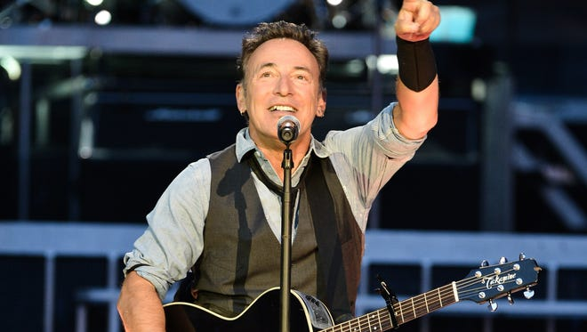 Bruce Springsteen performed with the E Street Band in Toronto.
