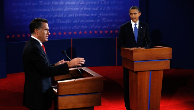 President Obama and Mitt Romney squared off over domestic issues in their first debate.