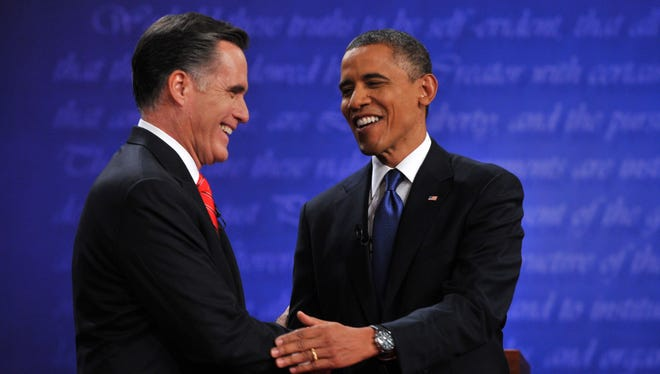 Mitt Romney and President Obama debated for the first time at the University of Denver.