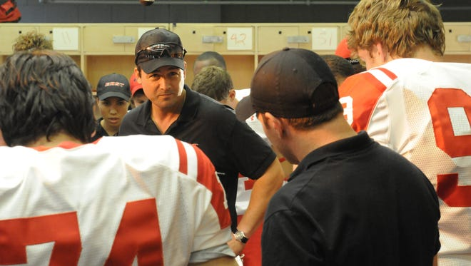 Kyle Chandler as Coach Eric Taylor in 'Friday Night Lights.'