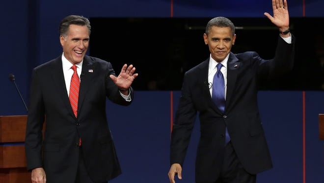 Mitt Romney and President Obama will answer questions posed by uncommitted voters during a town hall meeting.