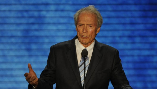Clint Eastwood speaks at the Republican National Convention in Tampa.