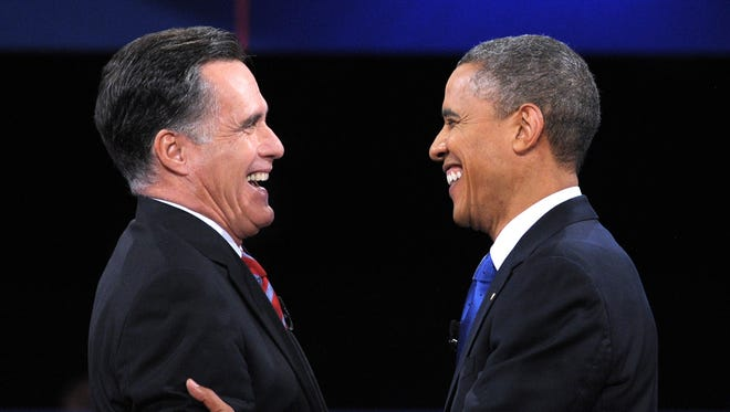 President Obama and Mitt Romney are neck and neck in national and some swing state polls.