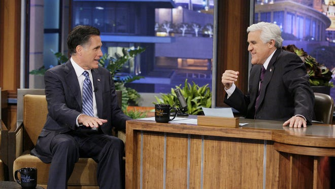 Mitt Romney sat down with Jay Leno during the GOP primary season.