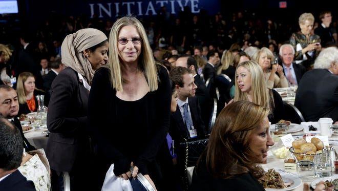 Barbra Streisand is a vocal supporter of President Obama.