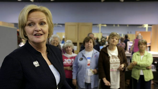 Sen. Claire McCaskill made an issue of her GOP rival's comments about rape.