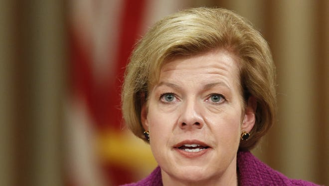 Democratic Rep. Tammy Baldwin wins Wisconsin's open Senate seat.