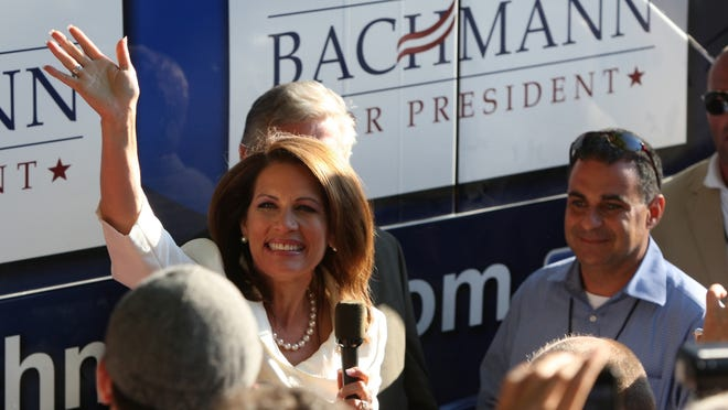Rep. Michele Bachmann, R-Minn., won the 2011 Iowa Straw Poll.