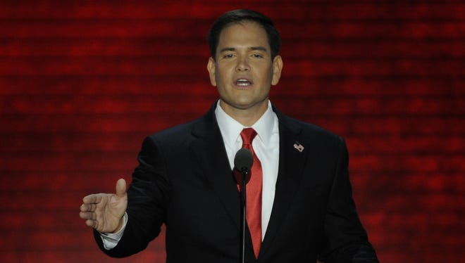 Sen. Marco Rubio, R-Fla., was a featured speaker at the 2012 Republican National Convention.
