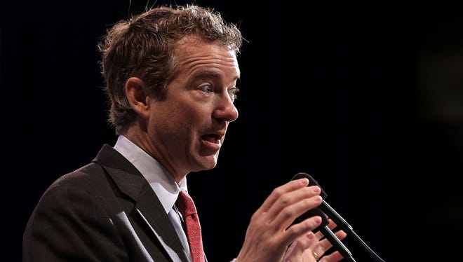 Sen. Rand Paul, R-Ky., announced his immigration plan before the U.S. Hispanic Chamber of Commerce.