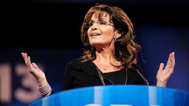 Sarah Palin, the 2008 GOP vice presidential nominee, was a featured speaker at the Conservative Political Action Conference.